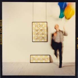 Artist #1b (Peter Tyndall), 1989