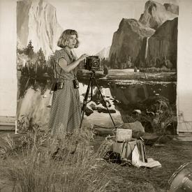 artist #33 (Anne Zahalka), 1990
