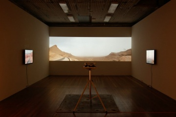 Anne Zahalka - Lines of Force - Installation view