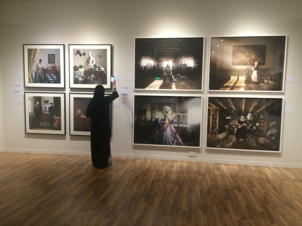 Anne Zahalka Resemblance in Dubai 1