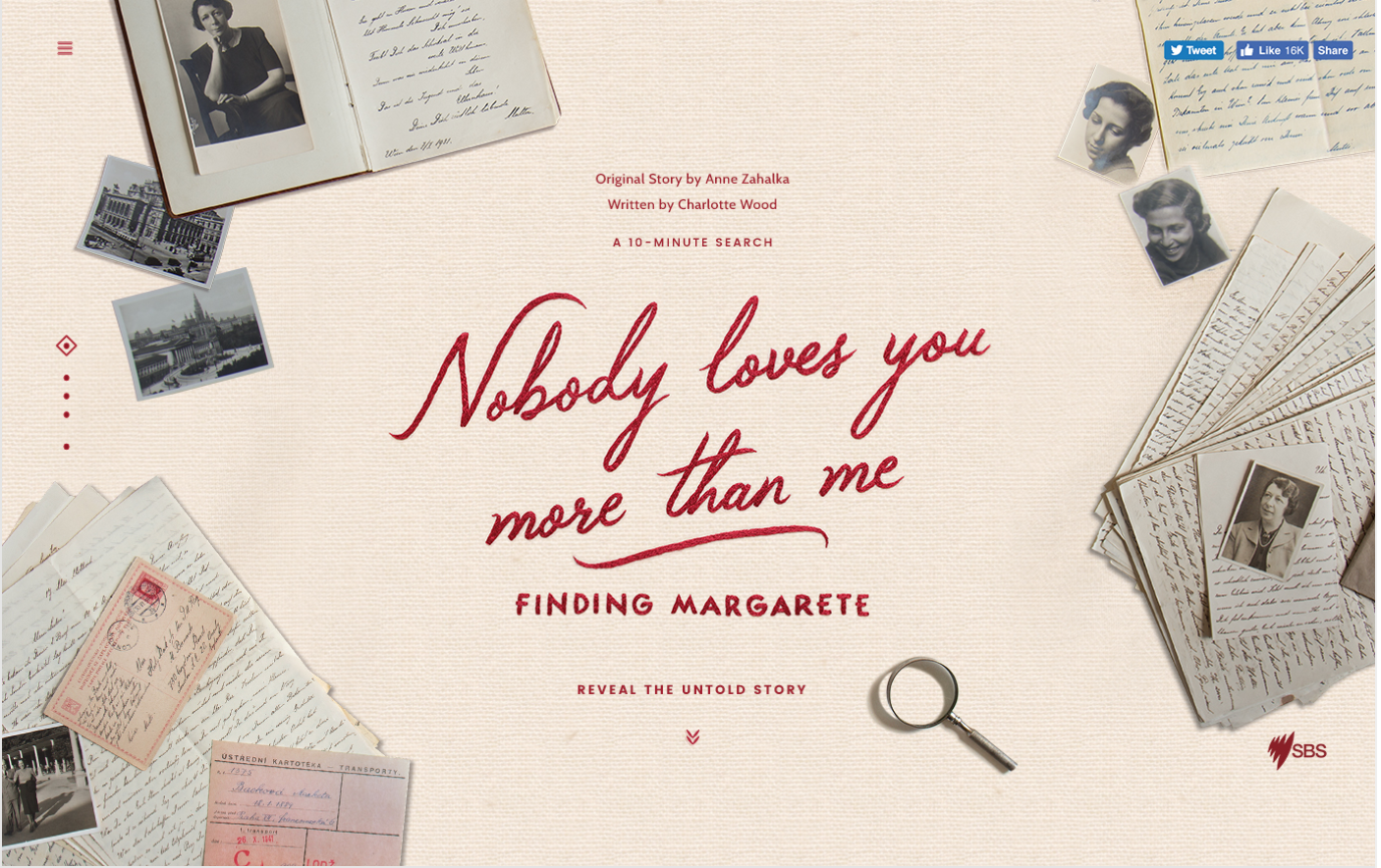 Nobody Loves You More Than Me: Finding Margarete